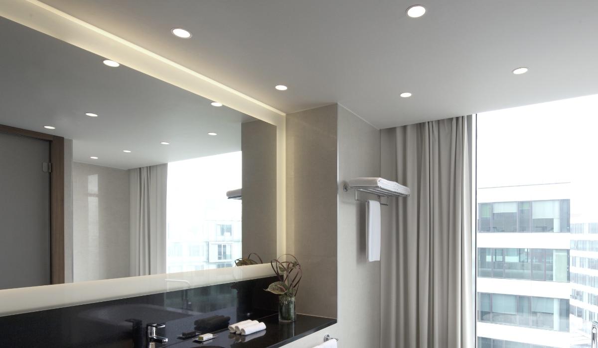 spandoek badkamer plafond